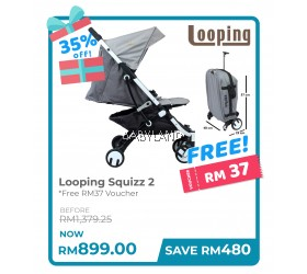 Looping Squizz 2  (WhiteFrame)