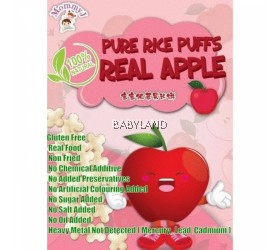 MommyJ Pure Rice Puff Real Apple (10g x 5packs)