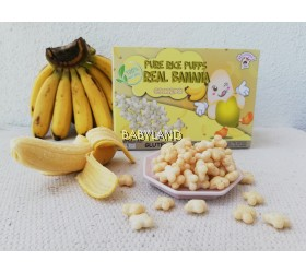 MommyJ Pure Rice Puff Real Banana (10g x 5packs)