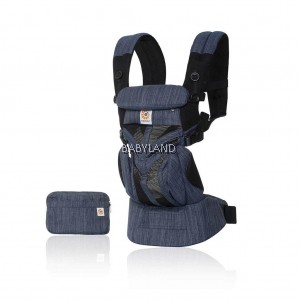 Ergobaby Omni 360 Baby Carrier All-In-One  Cool Air Mesh  (Indigo Weave)