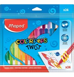 Maped Color Peps' Twistable Crayons (24pcs)