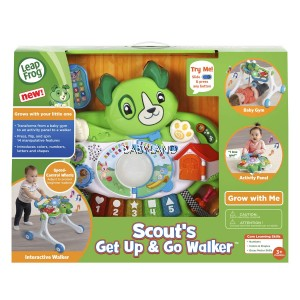 LeapFrog Scout's Get Up and Go Walker