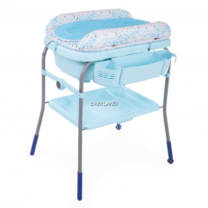 Chicco Cuddle & Bubble Comfort Baby Bath and Changing Table (Ocean)