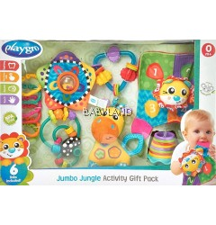 Playgro Jumbo Jungle Activity Gift Pack