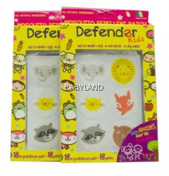 Defender Kids Mosquito Repellent Patch 18pcs