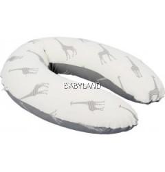 Doomoo Buddy Nursing Pillow (Giraffe Grey)