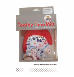 Earth Bebe Toothy Time Mitt (3-12m)