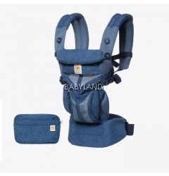 Ergobaby Omni 360 Baby Carrier All-In-One (Blue Blooms)