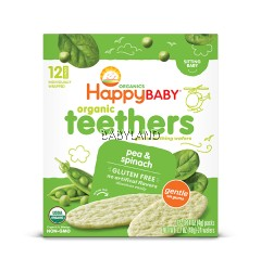 Happy Baby Organic Teethers Pea & Spinach