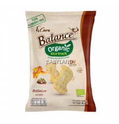 4Care Balance Organic Rice Snack Barbeque 60g