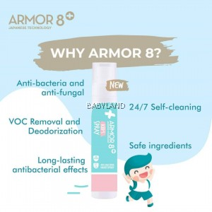 Armor 8+ Kid's Spray 150ml