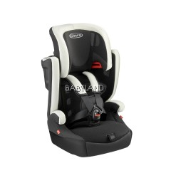 Graco Airpop Group 1.2.3 Combination Booster Seat - White