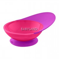 Boon Catch Bowl with Spill Catcher Pink