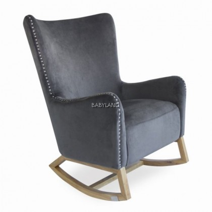 Valencia Rocking Chair with Ottoman & Pillow