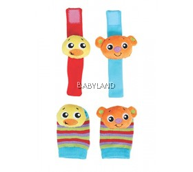 Playgro Hands & Feet Discovery Rattles 0M+