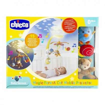 Chicco Magic Forest Cot Mobile Projector 0m+