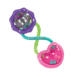 Bright Starts Rattle & Shake Barbell (Pink)