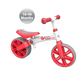Yvelo Junior Balance Bike  (Red)
