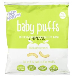 Little Bellies Baby Puffs Apple Cinnamon 7M+ (12g)
