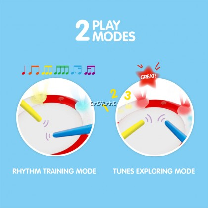 Hape Learn To Play Drum 12m-5y