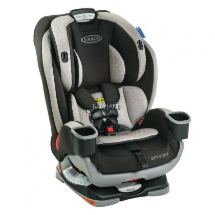 Graco Extend 2 Fit 3-in-1 Car Seat (Grey)