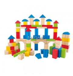 Hape Build Up And Away Blocks (12M+)