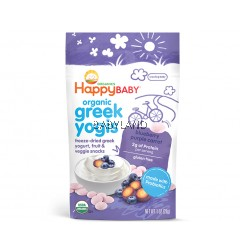Happy Baby Greek Yogis Blueberry & Purple Carrot (28g)