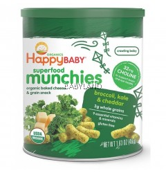 Happy Baby Munchies Broccoli & Kale (46g)