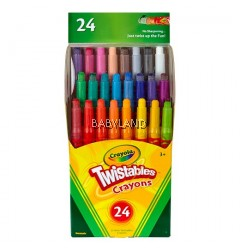 Crayola Twistable Crayons (24Pcs)