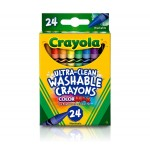 Crayola Washable Crayons (24Pcs)