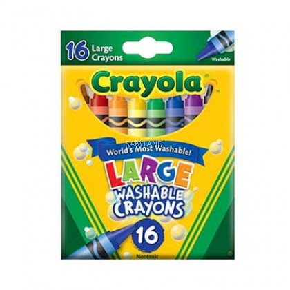 Crayola Large Washable Crayon (16Pcs)