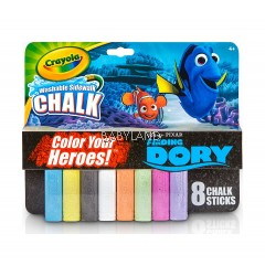Crayola Finding Dory Washable Chalk (8 Pcs)