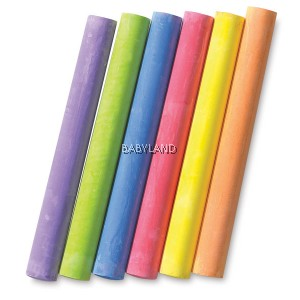 Crayola Coloured Chalks (12Pcs)