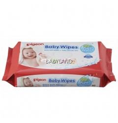 Pigeon Baby Wipes 99% Pure Water (82pcs)