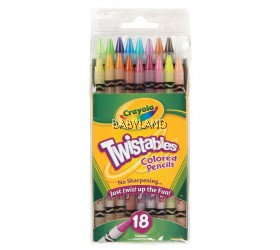 Crayola Twistables Colored Pencils (18Pcs)