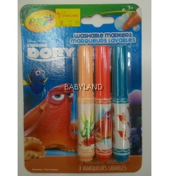 Crayola Finding Dory Washable Markers (3Pcs)