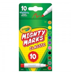 Crayola Mighty Marks Classic Markers