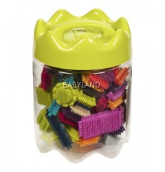 B.Toys Bristle Block Stackadoos (68Pcs)