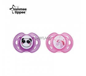 Tommee Tippee Closer To Nature Soother Air Style 0-6M (2Pcs)
