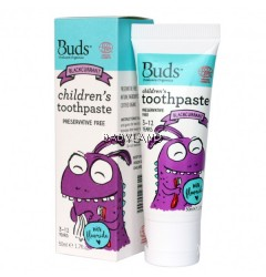 Buds Children's Toothpaste Blackcurrant (50ml)