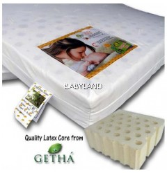 "Bumble Bee Latex Mattress (28""X52""x2"")"