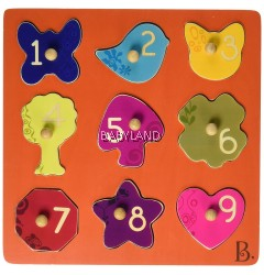 B.Toys B'S Eye View Shape Puzzle