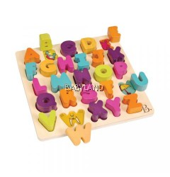 B.Toys Alpha B.Tical Chunky Blocks