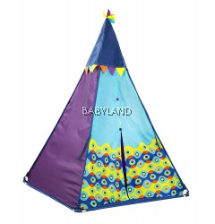 B.Toys Teepee Outdoor Tent  (Blue)