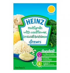 Heinz Multigrain Cauliflower, Broccoli & Cheese 6M+ (125g)