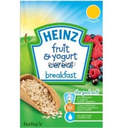 Heinz Breakfast Fruit With Yogurt 6M+ (125g)