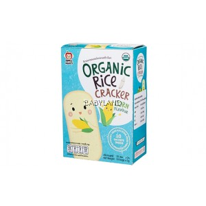 Apple Monkey Organic Rice Cracker Corn (30g)