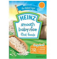 Heinz 1st Time Smooth Baby Rice 6M+ (100g)