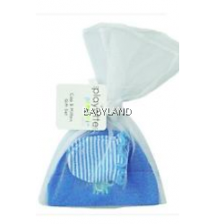 Playette Preemie Cap Mitten Gift Set Blue 0-6M (3Pc)
